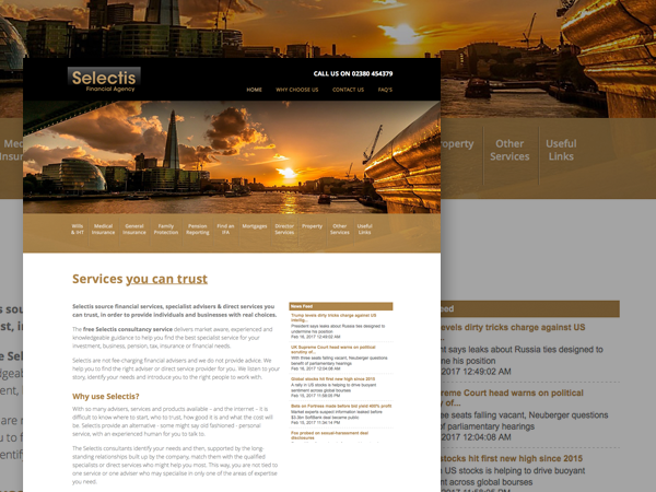 Lush New Media Website Design Development And Maintenance Services Southampton Hampshire